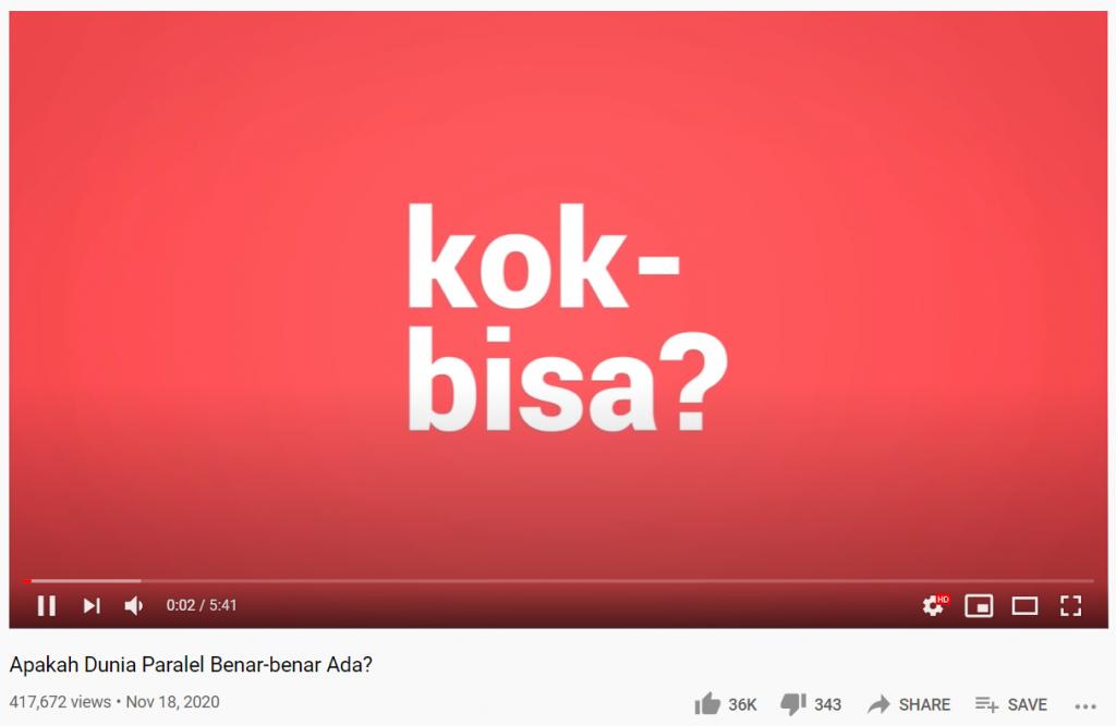 contoh intro youtube