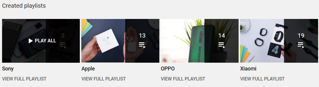contoh playlist gadgetin