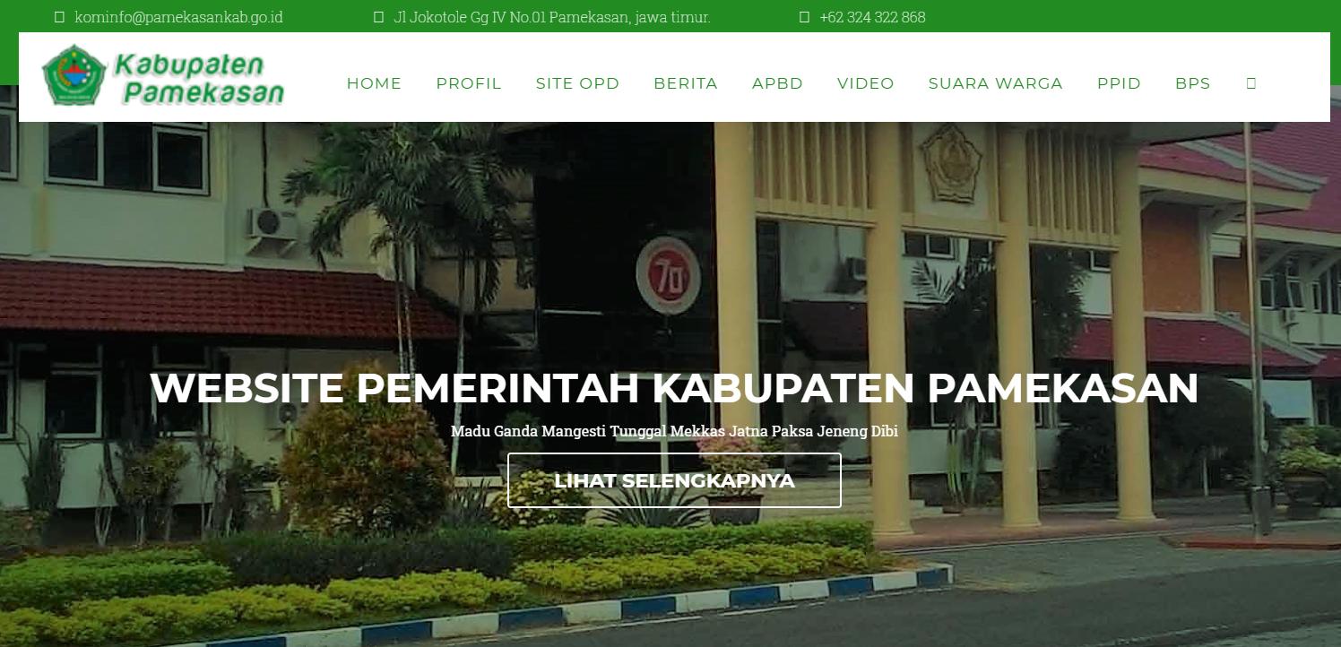 website pemerintah