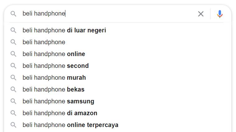 fitur autocomplete google