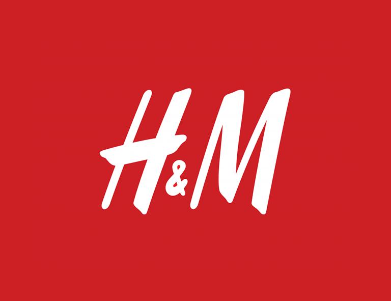 contoh desain logo h&m