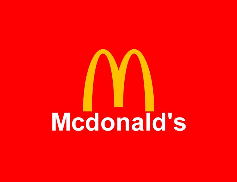 contoh desain logo mcdonalds