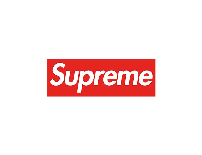 contoh desain logo supreme
