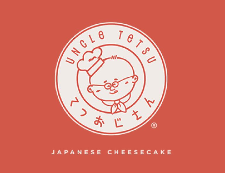 contoh desain logo uncle tetsu cheesecake bakery