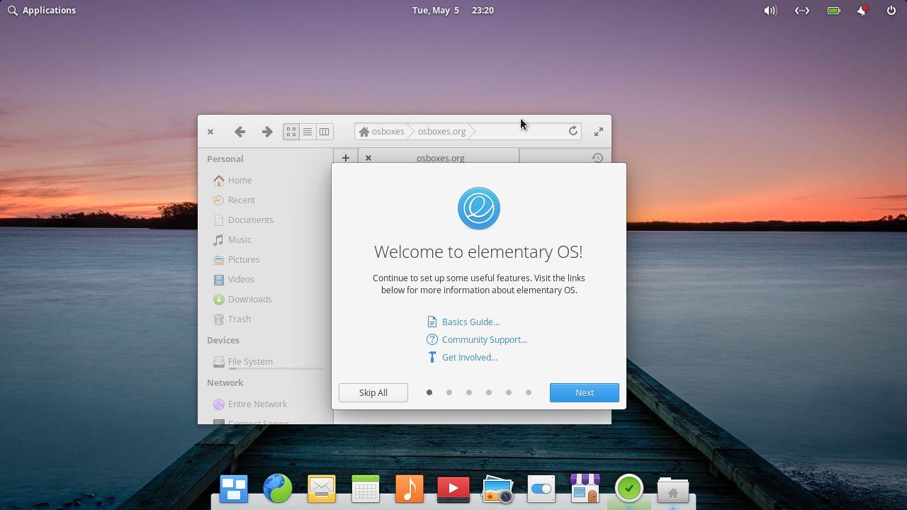 distro linux terbaik Elementary OS