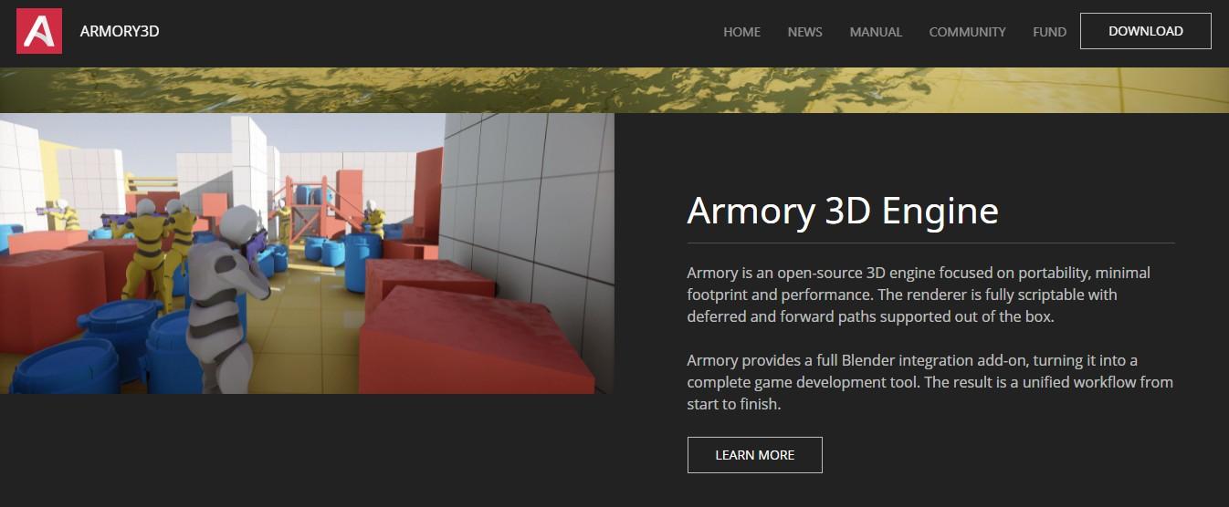 armory game engine