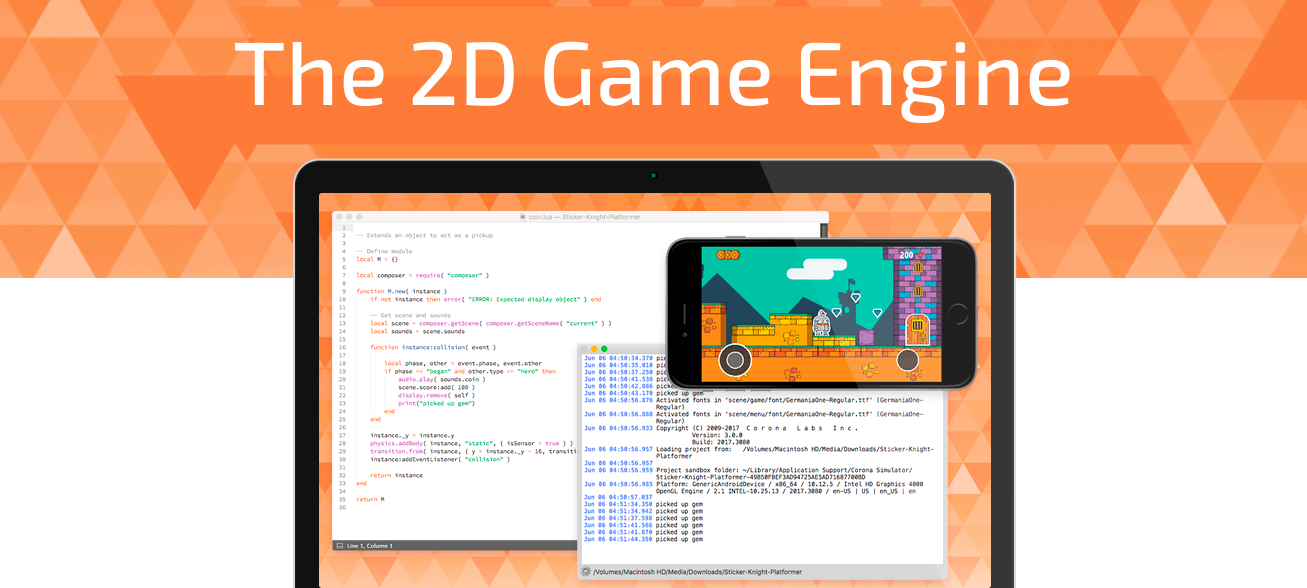 corona game engine