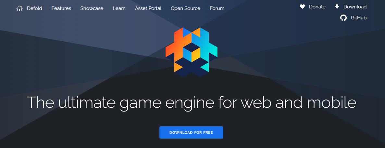 defold game engine