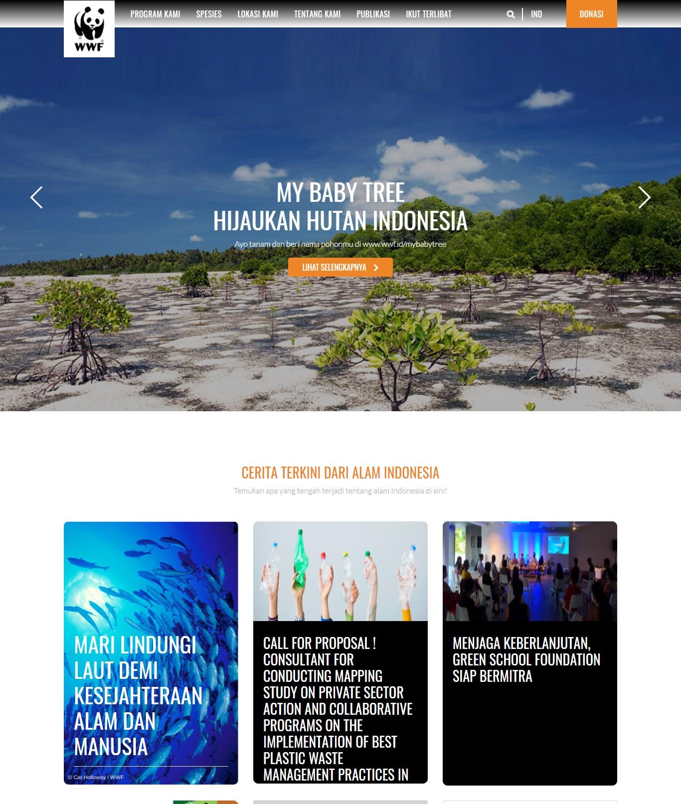 homepage wwf indonesia