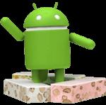 logo android nougat