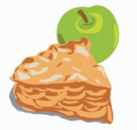 logo android apple pie