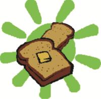 logo android banana bread