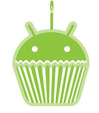 logo android cupcake