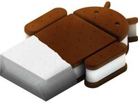 logo android ice cream