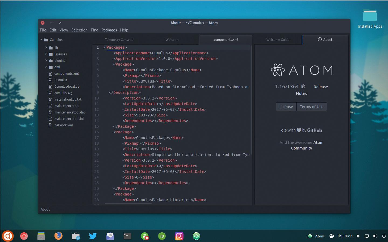 atom text editor terbaik