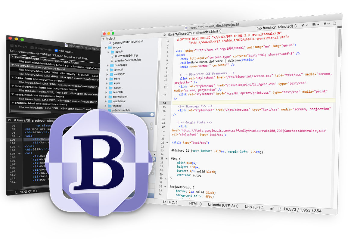 bbedit  text editor terbaik
